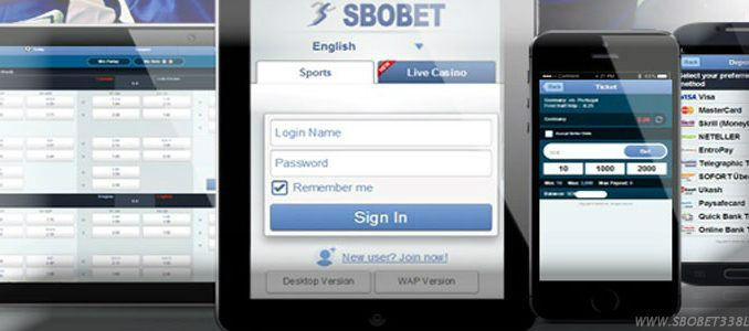 Melakukan withdraw sbobet di website